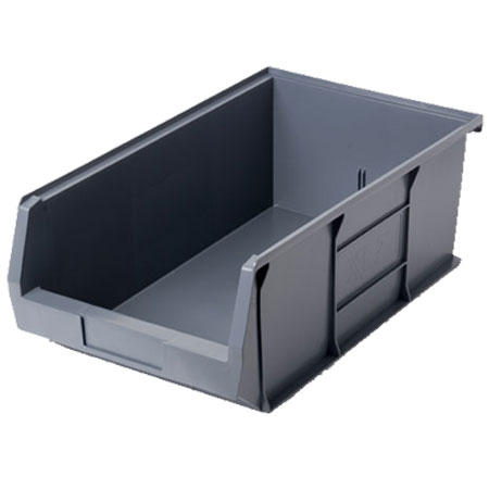 XL7ECO Grey Size 7 small parts storage bin 520mm deep x 310mm wide x 200mm high