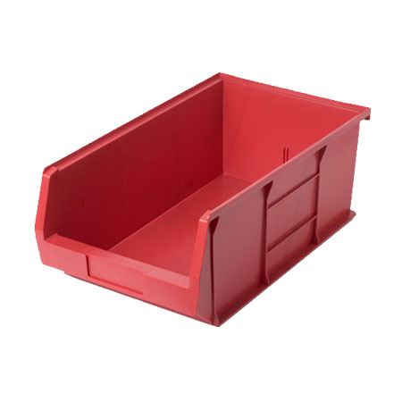 XL7R Red Size 7 small parts picking bin 520mm deep x 310mm wide x 200mm high