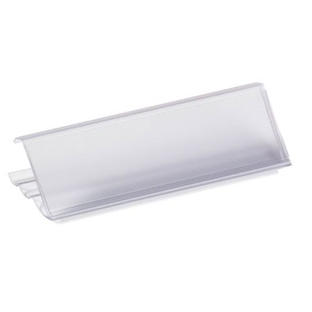 CW12/GG Label Holder - 80mm Wide x 30mm High