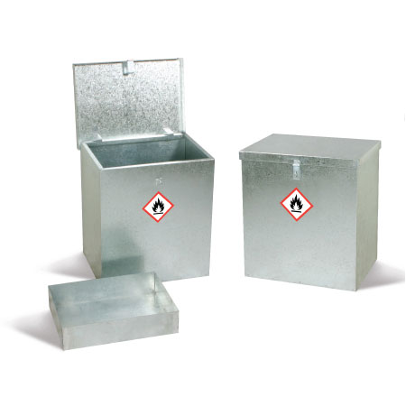 Galvanised Bin Units