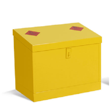 Hazardous Substance Sloping Top Bin Units
