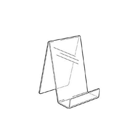 PS8270 Acrylic Single Sided Book Stand