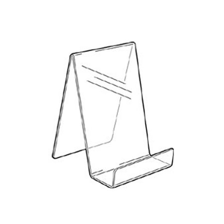 PS8271 Acrylic Single Sided Book Stand