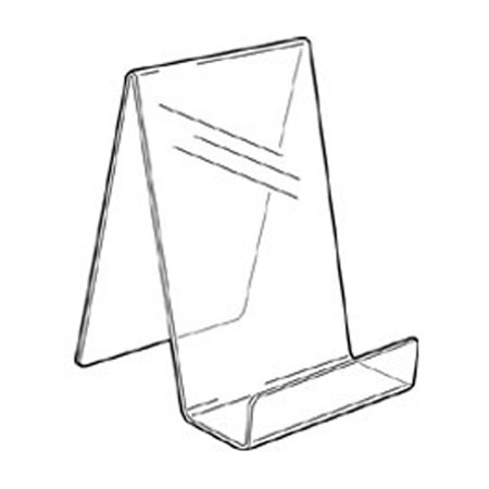 PS8272 Acrylic Single Sided Book Stand