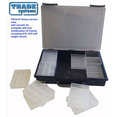PSC4S - Promotional Raaco Service Case With Smooth Lids Any Combination of inserts