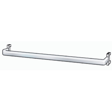R1326 1000mm Back bar for Twin Slot  Flat Sided Oval