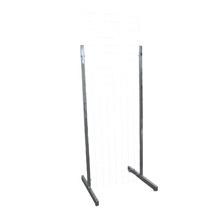 R442 - Heavy Duty Double Sided 1500mm High Feet for Gridwall Panels