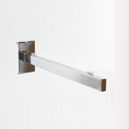 R449 - 250mm Glass shelf support bracket for Gridwall