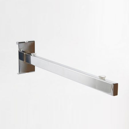 R450 - 300mm Glass shelf support bracket for Gridwall