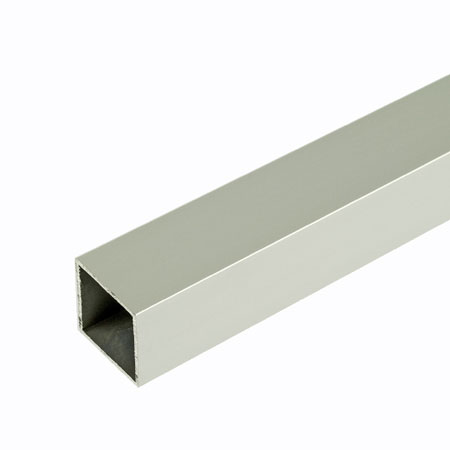 TACA - 3mtr length of Self Colour Aluminium Tube 25mm square for 25mm square tube system